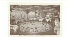 RENO MERRY-GO-ROUND RESTAURANT & BAR, EAST 56TH ST, NYC