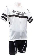 Panache Short Sleeve Cycling Kit Men 2XL Black White Mountain Road Bike Boulder