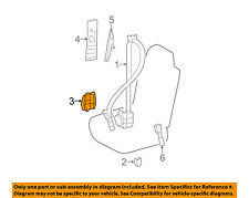 73223-53010 Toyota Cover, front seat belt retractor, rh 7322353010, New Genuine