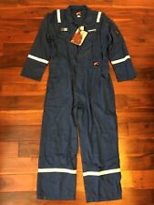 NEW RED WING 52-R WORKWEAR FLAME-RESISTANT BLUE COVERALLS OILFIELD SCHLUMBERGER