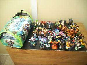 skylanders 41 figures bundle bag all excellent condition