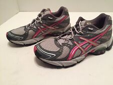 Asics Gel-Trail Sensor 3 Womens Gray Pink Running Trail Shoes Size 7.5