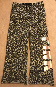 Victoria Secret PINK Camo/Camouflage Sweat Pants/Sweat Pants - Size S/M - Greens