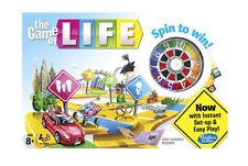 The Game of Life Spin to Win Board Game by Hasbro Ages 8 04000