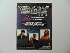 """Wrestlemania"" Dwayne Johnson ""The Rock"" Signed Magazine Page Todd Mueller COA"