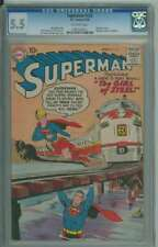 SUPERMAN #123 CGC 5.5 OW PAGES