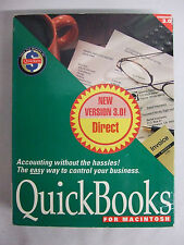 QuickBooks for Macintosh Version 3.0