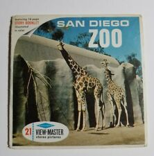 View-Master SAN DIEGO ZOO CALIFORNIA (A173) 3 Reel Set