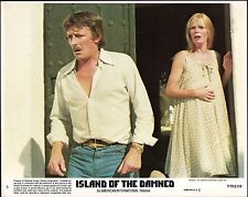ISLAND OF THE DAMNED  - 1977 -  one original 8x10 Color Glossy Photo - HORROR