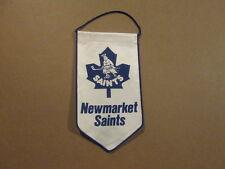 AHL Newmarket Saints Vintage Defunct Hockey Banner Pennant