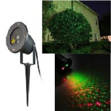 Outdoor Star Power Red & Green Christmas Laser with Moving Lights