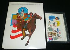 Sealed 1975 Mint Set Commemorative USPS Souvenir Yearbook Album with STAMPS