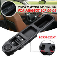 Front Electric Window Mirror Switch Driver Side For Peugeot 307 00-05  !