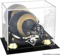 Los Angeles Rams Mini Helmet Display Case - Fanatics