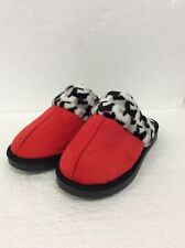 Vera Bradley Scottie Dogs Scottish Terrier Fleece Slippers Size Small 5-6 New