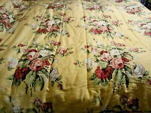 Vintage RALPH LAUREN Kathleen Comforter Full/Queen Size Romantic Cottage Floral