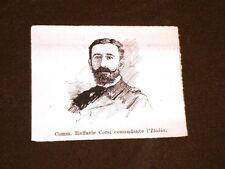 La Marina militare d'Italia nel 1888 Raffaele Corsi al comando della nave Italia