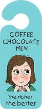 NUOVO caffè cioccolato Uomini i più ricchi il migliore porta appendiabiti