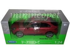 WELLY 24047 PORSCHE MACAN TURBO 1/24 DIECAST MODEL CAR RED