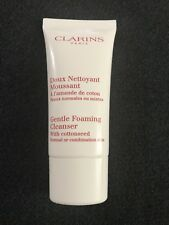 Clarins Gentle Foaming Cleanser with Cottonseed Norm to Comb Skin Travel Sz 30ml