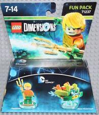 Lego Dimensions 71237 DC Comics, Fun Pack, Aquaman & Watercraft, NO BOX! New!