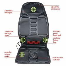 Car Massage Heated Seat /Cushion Neck Pain Lumbar Pad Vibration Massager Pretty