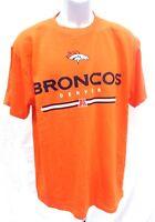 Denver Broncos Football Orange Short Sleeve T-Shirt