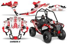 "Polaris Sportsman ""ACE"" ATV Graphic Kit Wrap Quad Accessories Decals CARBON X R"