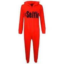 Niños Niña # Selfie A2Z Mono de una Sola Pieza Verano Mono Pijama 7-13 Años