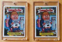2004 GPK DONALD Dump/Trumped TREVOR-Garbage Pail Kids ANS3 *MINT w/CASES UV SAFE