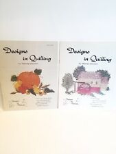 2 Designs in Quilling by Malinda Johnston Pattern Booklets