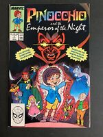 Pinocchio And The Emperor Of The Night 🔥 #1! One Shot Marvel Comics!