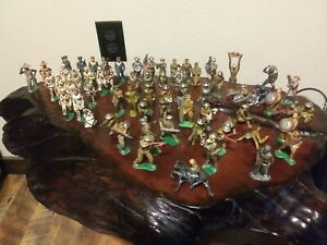 vintage barclay manoil lead toy soldiers LOT