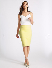 3aa022c9e3 Marks and Spencer Cotton Blend Straight & Pencil Skirts for Women ...