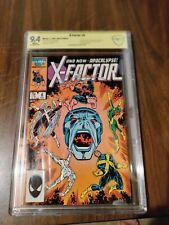 X-Factor #6 (Jul 1986, Marvel) CGC 9.4 key 1st Apocalypse SS Bob Layton 🔥
