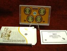 2013 U.S. PRESIDENTIAL $1 COIN PROOF SET - NICELY DONE!