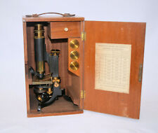 Monocular microscope in case – J. Woolley, Sons & Co., Manchester.