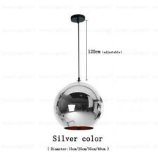 Modern Art Glass Ball Lamp Pendant Light Mirror Chandelier For Bar Cafe Club