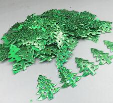 100pcs Christmas tree -shape Die Cut Felt Appliques Cardmaking decoration 39mm