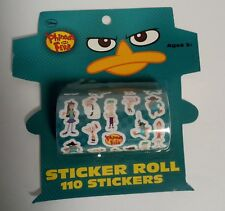 DISNEY_Phineas  and Ferb Sticker Roll, 110 Stickers (TWO pack)
