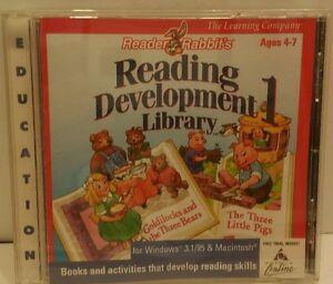READING RABBITS READING DEVELOPMENT 1 LIBRARY DEVELOPMENT SKILLS BUILDER CD #N4
