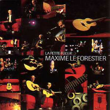 CD single Maxime LE FORESTIER Jean Felix Lalanne La petite fugue Promo