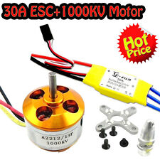 30A controller ESC+1000KV Brushless Motor A2212 for 4 Axis Multi Quadcopter F