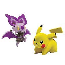 Pokémon Battle Action Figure, Pikachu vs Noibat