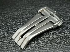 NEW REPLACEMENT 20MM SILVER CLASP/BUCKLE FOR OMEGA  SPEEDMASTER/SEAMASTER WATCH
