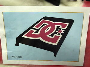 DC SHOES PINK QUEEN SIZE BLANKET