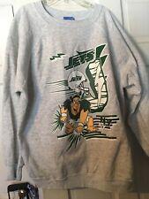 Fred Flinstone NFL New York Jets 1994 Crewneck Sweatshirt Size XL