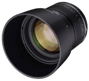 Samyang 85mm F1.4 MK2 Fuji X Full Frame Camera Lens