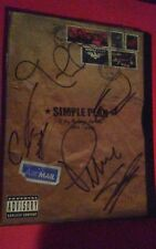 "Authentic 100% Fully Signed Simple Plan DVD ""A Big Package For You"" 1999-2003"
