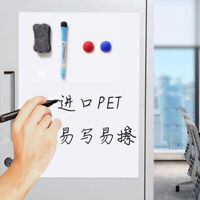 A5 Magnetisch Filet Whiteboard Sheet Kühlschrank Magnet Message Board Tragbar